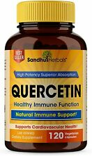 Quercetin Vegetarian Capsules 120 Ct-Support Cardiovascular Health,Immune Health