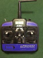 E-flight LP5DSM Proportional 5 Channel R/C Transmitter 2.4 GHz Spektrum DSM