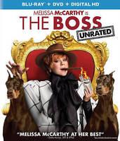 The Boss (Unrated Blu-ray + DVD + Digita Blu-ray