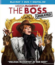 The Boss (1-Disc Blu Ray and case Only)