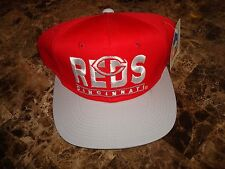 CINCINNATI REDS BARS  DPM  80'S   SCRIPT    90'S HAT CAP VINTAGE SNAPBACK