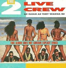 As Clean as They Wanna Be by The 2 Live Crew CD 1996 Lil' Joe Records CDXR108