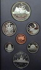 1987 Canada Proof Double Dollar Set