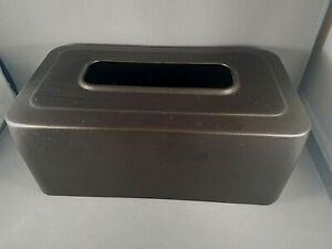 iD Inter Design Facial Tissue Box Cover Holder Rectangle Bronze Metal