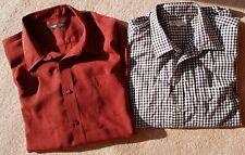 Men Shirts XXXL and XXL Used