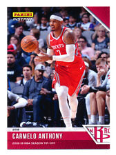 2018-19 PANINI INSTANT CARMELO ANTHONY FIRST HOUSTON ROCKETS CARD! SP/330! HOT!