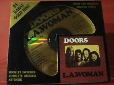 """DCC GZS-1034 THE DOORS """" L.A.WOMAN """" (24 KT GOLD COMPACT DISC/FACTORY SEALED)"""