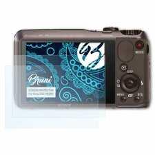 Bruni 2x Schermfolie voor Sony DSC-HX20V Screen Protector Displaybeveiliging