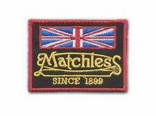 Matchless Motorcycle Embroidered Iron-On Sew-On Patch - NEW