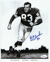 1961-62 PACKERS Bill Quinlan signed photo 8x10 JSA COA AUTO rare Autographed