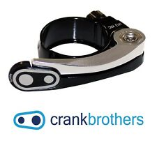 Crankbrothers Split Seatpost Clamp - Seat Collar - 35mm - Silver & Black
