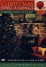 BRAND NEW DVD // CHRISTMAS CAROL  SING A LONGS  // FIREPLACE SCENE // 2HR