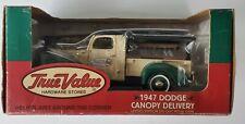 Vintage Ertl Die Cast Bank, 1947 DODGE CANOPY DELIVERY, (TRUE VALUE HARDWARE)