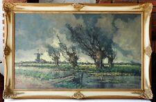 Faszinierendes Ölgemälde Landschaft Expressionismus Öl Gemälde Leinwand signiert