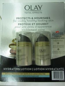 Olay Total Effects Anti-Aging SPF 15 Moisturizer 2 x 50 mL