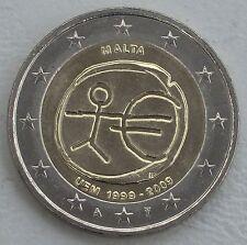 2 euro Malta 2009 10 anni UEM unz