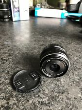 Used prime Olympus M.Zuiko 17 mm f 1.8 AF Lens For Micro Four Thirds 4/3