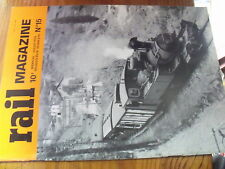 µ? Revue Rail Magazine n°15 CF Kenya 50 ans du Rheingold 231 B Ouest BB 7003
