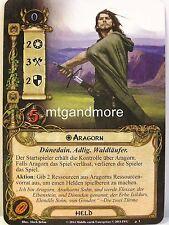 Lord of the Rings LCG - 1x Aragorn #001 - Saruman traición