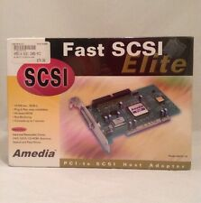 Amedia SCSI Card PCI AM20178 Elite 10MB/sec BIOS Host Adapter