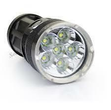SKYRAY 12000 Lumens 6x CREE XM-L XML T6 LED Hunt Flashlight Torch 4x 18650 Light