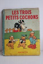 Les Trois Petits Cochons HACHETTE 1938 Walt Disney