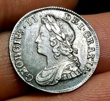 1746/3 GEORGE II SILVER 3d THREEPENCE THREE PENCE COIN