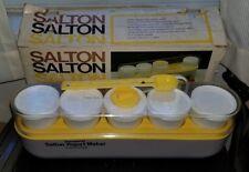 VINTAGE SALTON FAMILY SIZE YOGURT MAKER THERMOSTAT CONTROLLED ORIGINAL BOX GM-5W