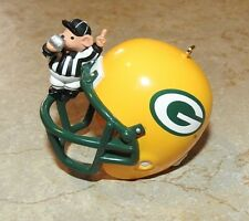 Hallmark Collectible Ornament 1998 Nfl Greenbay Packers Helmet w/mouse Ref!