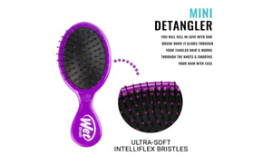 The Wet Brush Mini Detangler IntelliFlex Hair Brush, Purple (BRAND NEW)