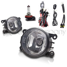 2011-2012 Ford Explorer Fog Lights Front Driving Lamps w/Wiring Kit - Clear