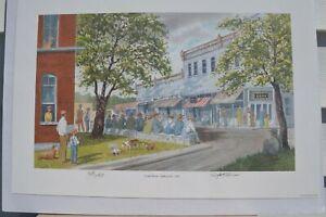 JOHN KOLLOCK ''Court Week Clarkesville 1947'' Signed&Numberd 380/750 circa 2000