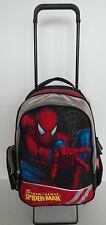 Spiderman Rucksack +Trolley-Gestell separat Schulranzen Kinderkoffer Reisetasche