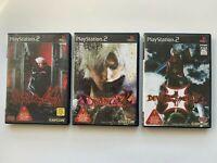 LOT3 PlayStasion2 Devil May Cry (1/2/3 set) JAPAN PS2 JAPAN Import Game NTSC-J