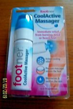 COOL ACTIVE FOOT MASSAGER FOOTNER ROLLER BALL DISPENSES COLD SOOTHING FOAM BNIP