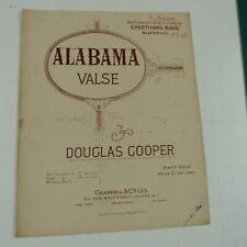piano music DOUGLAS COOPER alabama, valse