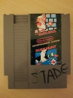 SUPER MARIO BROS. / DUCK HUNT (NES, 1988) Loose Cartridge Only FREE S/H