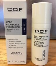 DDF Daily Protective Moisturizer Protect Anti-Aging UV SPF 15 New In Box F17