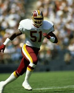 MONTE COLEMAN 8X10 PHOTO WASHINGTON REDSKINS PICTURE FOOTBALL NFL IN MOTION