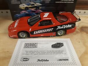 1/24 #1 Dale Earnhardt sr. 1999 Iroc orange winner Action xtreme