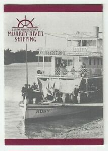 MINT 2003 MURRAY RIVER SHIPPING P&S  STAMP BOOKLET