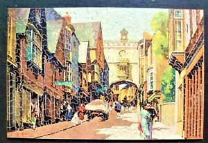 Vintage Chad Valley GWR Old Wooden Jigsaw Puzzle.