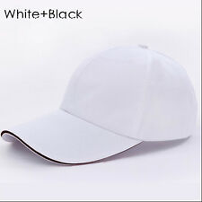 2017 Men Women New Black Baseball Cap Snapback Hat Hip-Hop Adjustable Bboy Caps