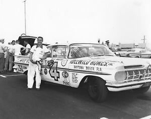 BEAUTIFUL NASCAR HALL OF FAMER REX WHITE 8X10 PHOTO W/BORDERS