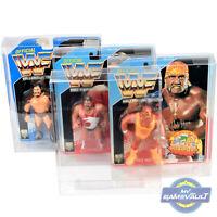 WWF Hasbro DISPLAY CASE x 5 Figure Protector 0.5mm Plastic Protective Box Type 2