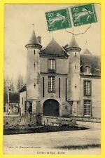 CPA France Castel 77 - Entrée du CHÂTEAU de SIGY (Seine et Marne)