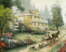 Country Living Thomas Kinkade 8 X 10 Art Print