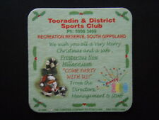 TOORADIN & DISTRICT SPORTS CLUB RECREATION RESERVE SOUTH GIPPSLAND COASTER
