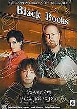 BLACK BOOKS - SERIES 1, THE COMPLETE (DVD, 2002) BRAND NEW!!! SEALED!!!