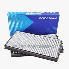 BMW AC Cabin Air Filter Charcoal Carbon Koolman OEM Quality 64116921019 (2pcs)
